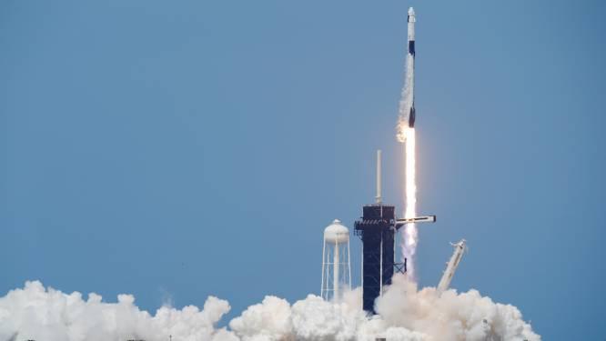 Amerikaanse astronauten schrijven geschiedenis: herbekijk hier lancering van de Crew Dragon