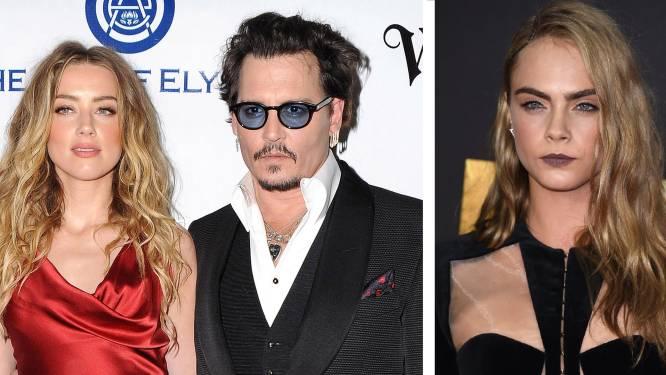 Amber Heard a-t-elle trompé Johnny Depp avec Cara Delevingne?