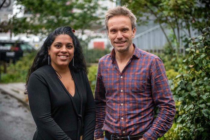 Shanti van Genechten (links) en Lode Godderis steunen wensouders in een onzekere tijd.