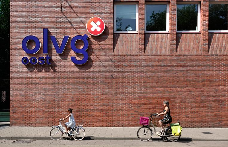 Ziekenhuis OLVG in Amsterdam-Oost. Beeld Hollandse Hoogte / Berlinda van Dam