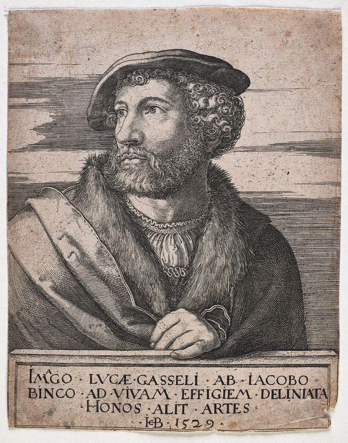 Brabant-Collectie - Portret van Lucas Gassel