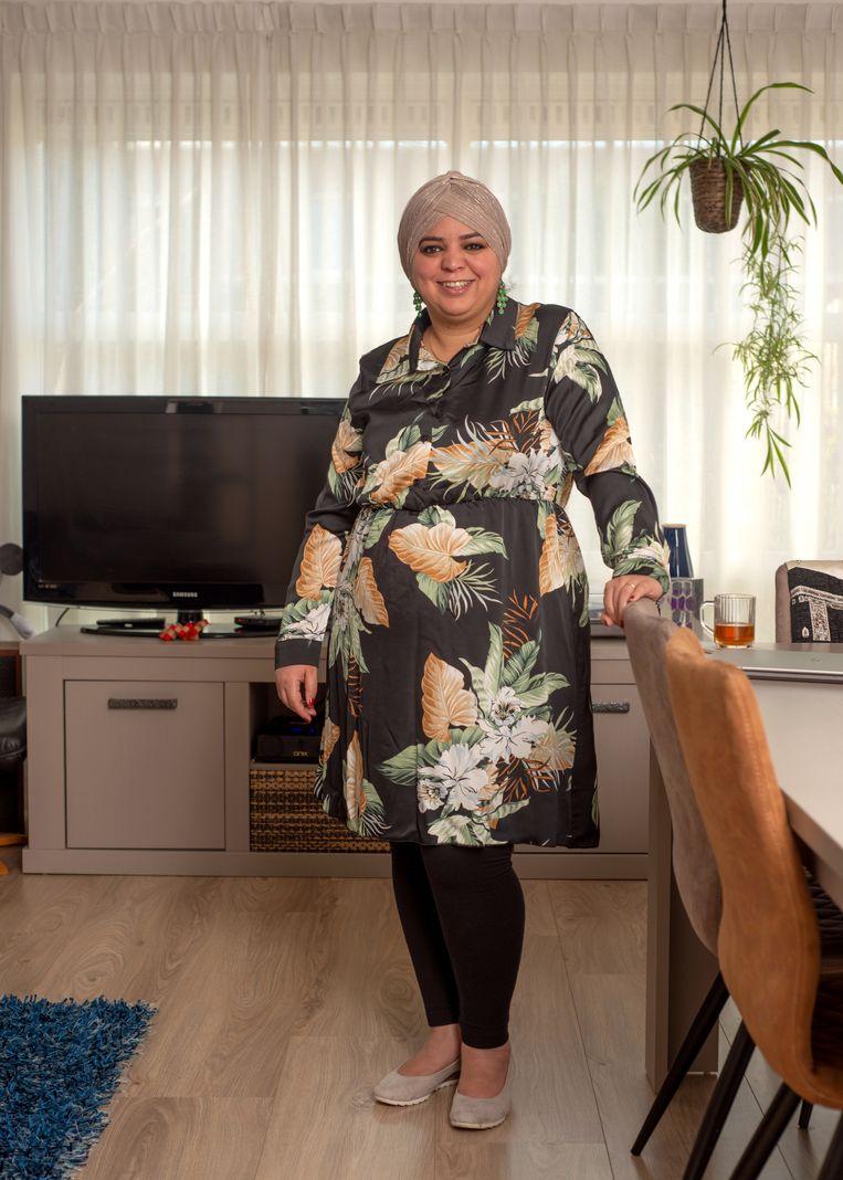 Yassmine El Ksaihi. Beeld Michiel Van Nieuwkerk