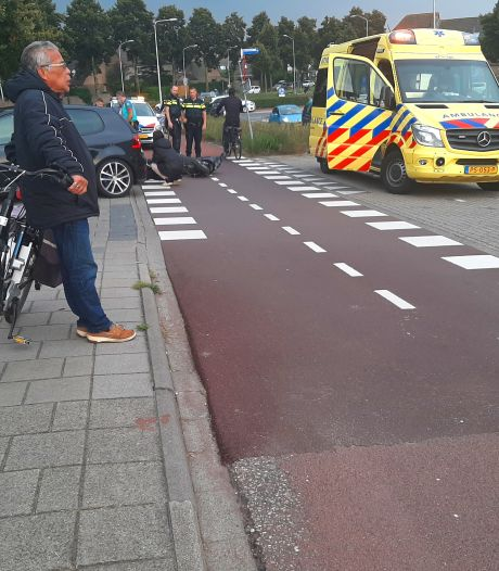 Scooterrijder gewond bij ongeluk in Ede