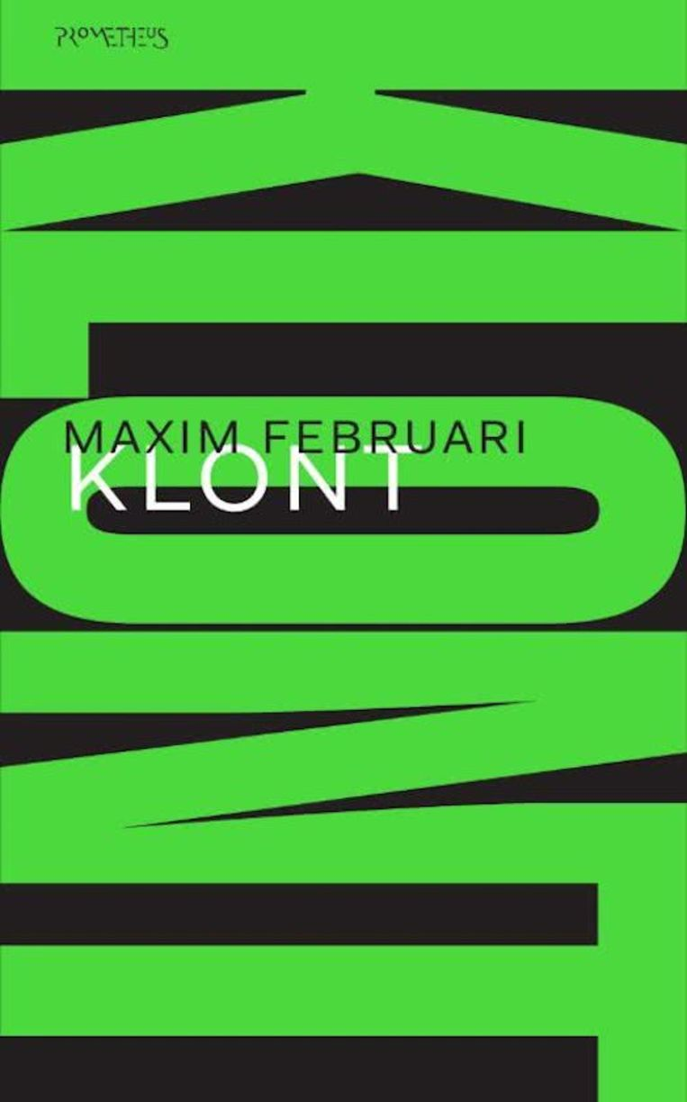 Maxim Februari, 'Klont', Prometheus, 256 p., 19,99 euro Beeld rv