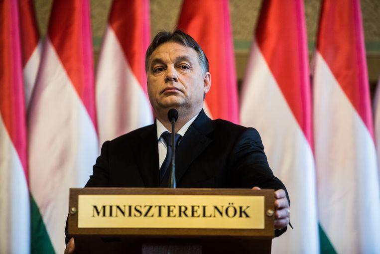 Hongaars premier Viktor Orbán. Beeld Getty Images
