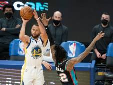 Golden State-vedette Curry voor tweede keer topscorer van de NBA