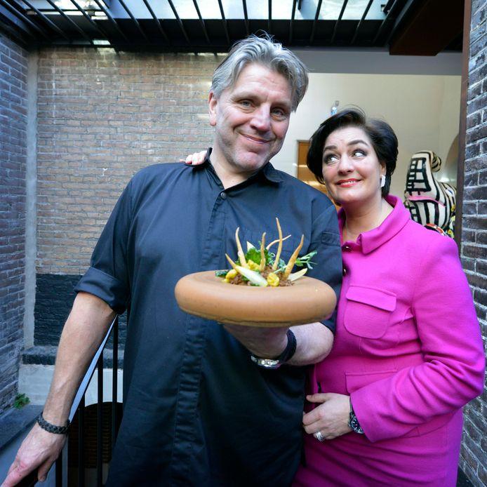 Jonnie Boer en Thérèse Boer die met De Librije weer in de top-50 van de wereld staan.