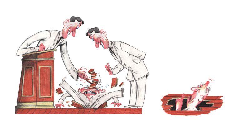 'Als je het mikpunt wordt van kwelduivels op het werk, sta je machteloos. De wetgeving staat aan de kant van de werkgever.' Beeld Lukas Verstraete