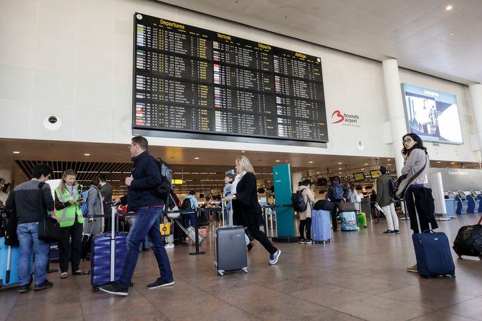 Brussels Airport te Zaventem op archiefbeeld uit mei 2019.