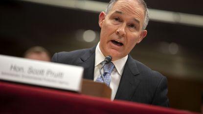 Scott Pruitt, omstreden hoofd Amerikaans milieuagentschap, stapt op