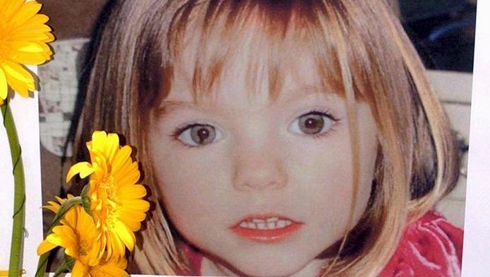 Een foto van de vermiste Maddie McCann.