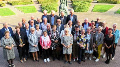 70-jarigen krijgen feestje op gemeentehuis