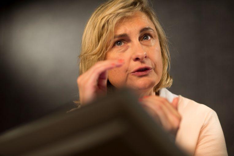 Onderwijsminister Hilde Crevits. Beeld Filip De Smet