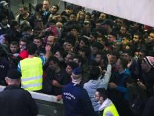 Recordaantal vluchtelingen de grens over bij Hongarije