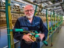 Wim Morskieft uit Oele, melkmachinemonteur en bondscoach touwtrekken