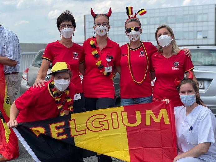 #redchallenge AZ Sint-Elisabeth Zottegem en Kinderdagverblijf Piet Konijn.