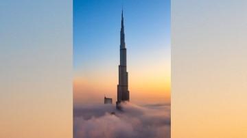 Vue sur le Burj Khalifa de Dubaï.