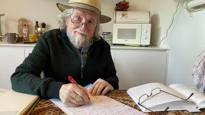 """Pol Van Eyck (90) schrijft 35ste en laatste boek: """"Tijdens WOII leerde ik mezelf schrijven op behangpapier"""""""