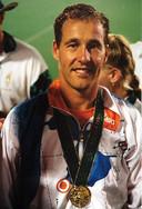 Wouter van Pelt, tweevoudig gouden medaillewinnaar op Olympische Spelen. Oud-Enschedeër