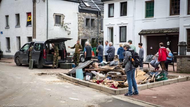 """Duizend Kempische handen herstellen overstroomd  dorp Prayon in Wallonië: """"Hulp is nu meer dan ooit nodig"""""""