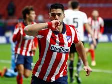 Suárez ook op 34ste verjaardag trefzeker voor koploper Atlético Madrid
