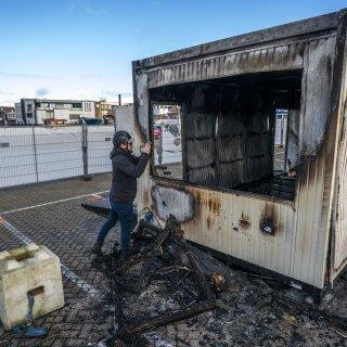 De Jonge: brand in Urk gaat alle perken te buiten