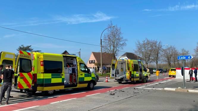 Motorrijder zwaar gewond bij aanrijding in Erpe-Mere
