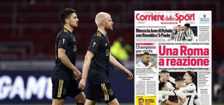 Italiaanse media kraken Scherpen: 'Een ramp voor de jonge reus van Ajax'