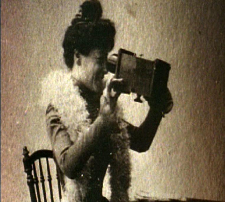 De Franse filmpionier Alice Guy-Blaché. Beeld