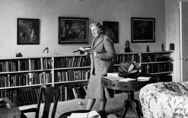 Agatha Christie in 1946.  Beeld AFP