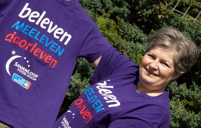 Rianne van Valkenburg helpt mee de SamenLoop voor Hoop in Neerijnen op poten te zetten.