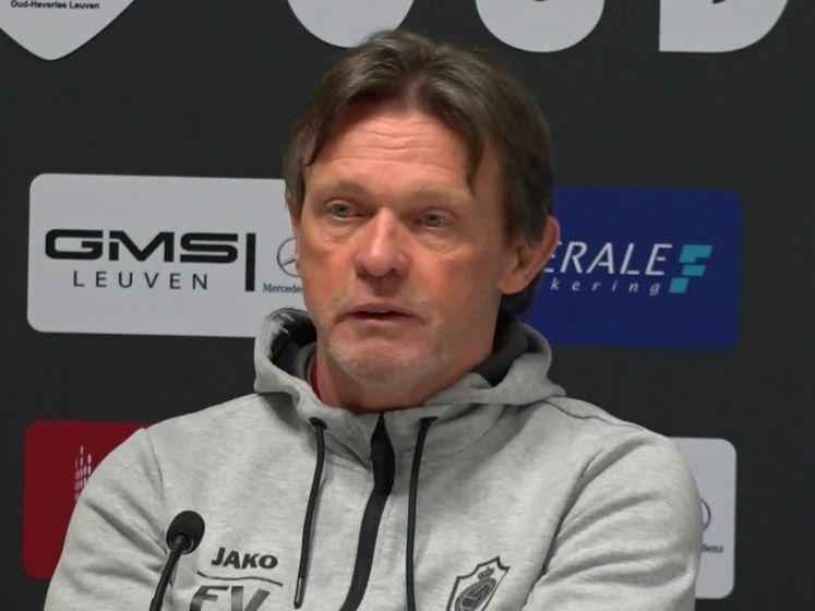 """Vercauteren na verlies: """"Europees voetbal geen excuus"""""""