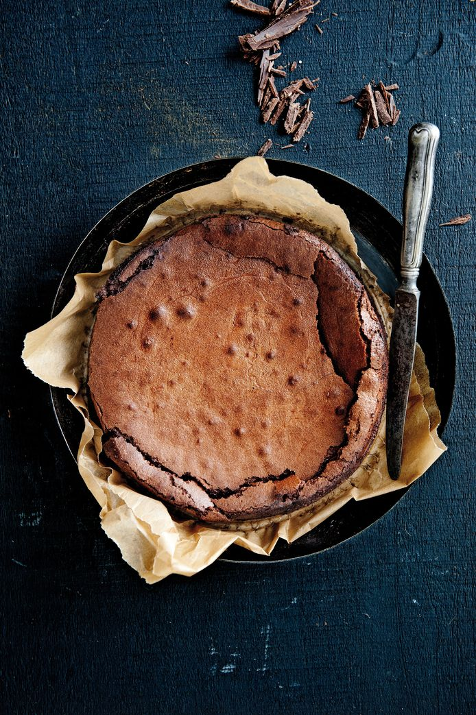 Franse chocoladetaart.