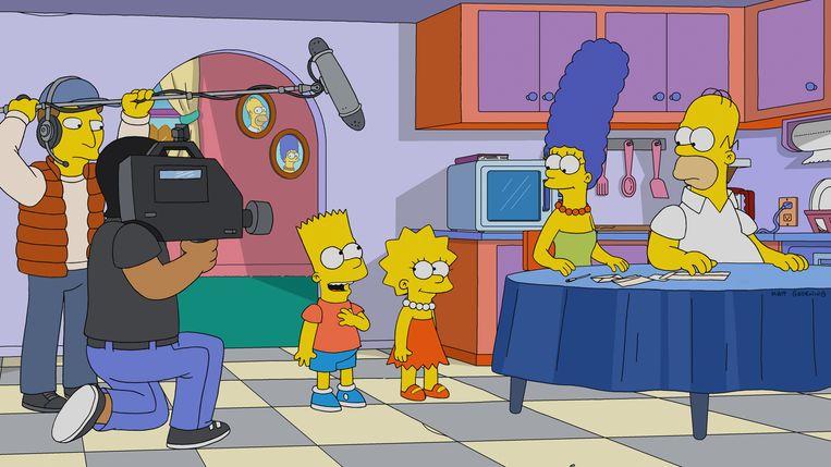 Beeld uit seizoen 30 van 'The Simpsons'. Beeld Fox