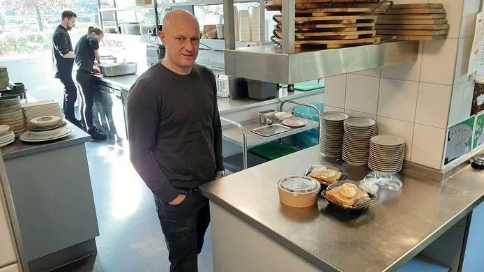 Koen Bakker van restaurant Het Hooihuis in Roosendaal.