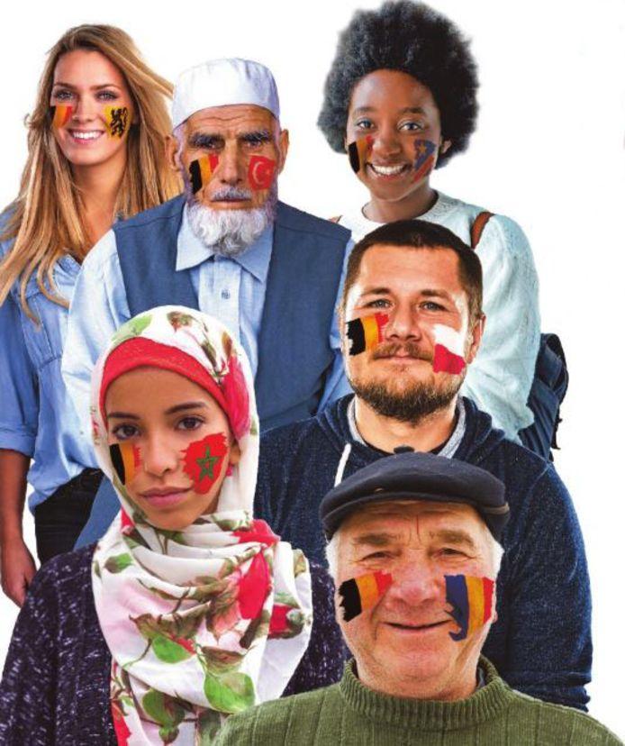 Er werd gepeild bij autochtone Belgen, maar ook bij Vlamingen en Brusselaars met Marokkaanse, Turkse, Congolese, Poose en Roemeense roots.