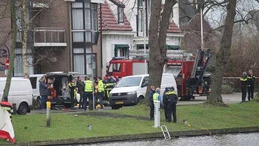 In de Noordsingel in Leeuwarden is een lichaam gevonden.