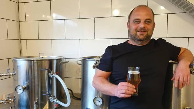 """Wortel heeft met Brouwerij31 een eigen microbrouwerij: """"Toen een zelf gebrouwen fles stout in de pas geverfde keuken ontplofte, moest ik met mijn ketels het huis uit"""""""