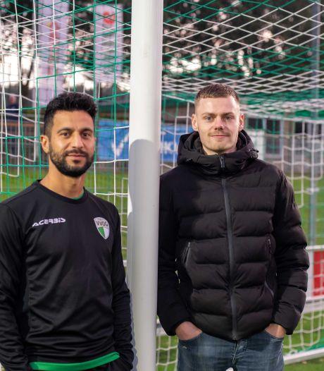 Wie gaat de Veluwse derby winnen? Yasin (VVOG) en Lars (DVS'33) hebben geen extra motivatie nodig