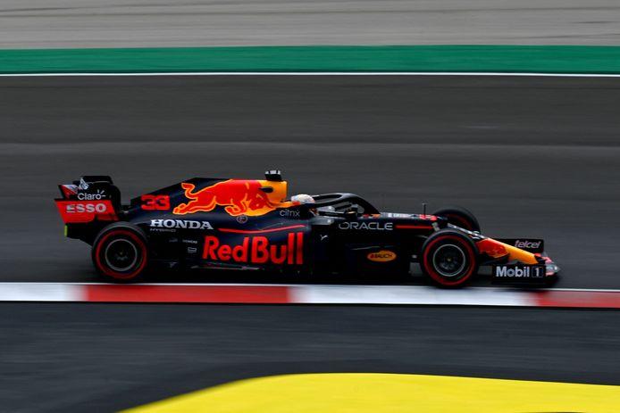 Max Verstappen moest in de kwalificatie genoegen nemen met de derde plaats.