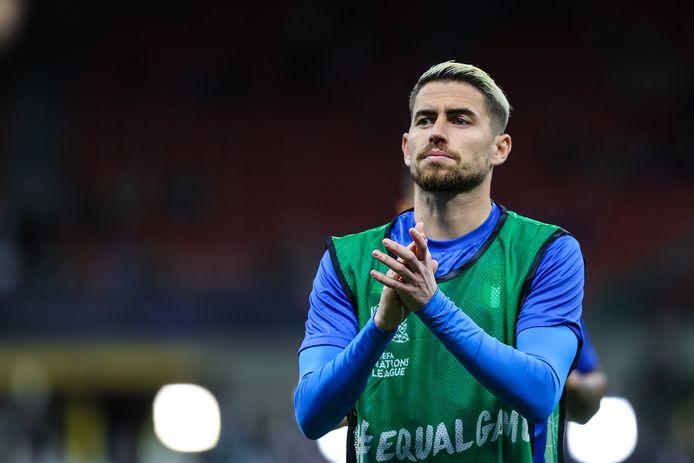 """""""Nous ne sommes pas intéressés par ce que Courtois ou les Belges pensent de ce match"""", a déclaré Jorginho lors d'un point presse samedi."""