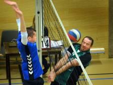 Volleyballers Kwiek dicht bij winst