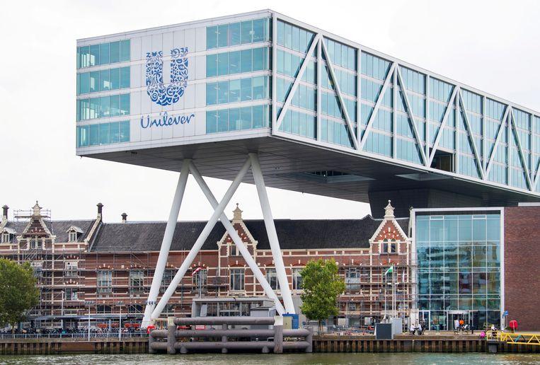 Het hoofdkantoor van Unilever in Rotterdam. Beeld REUTERS