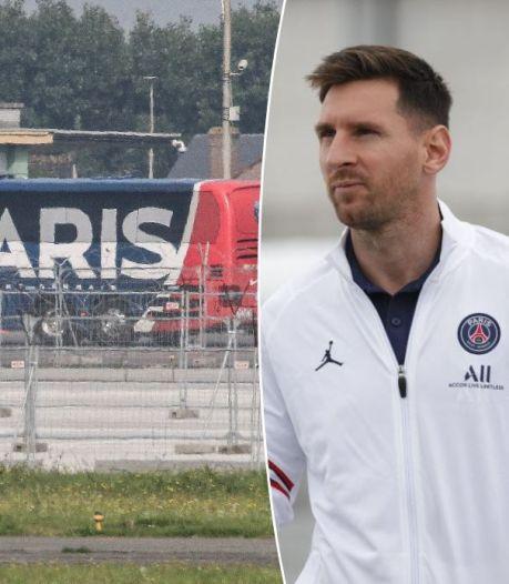 Lionel Messi et les Parisiens sont arrivés en Belgique, Ramos et Verratti n'ont pas fait le voyage
