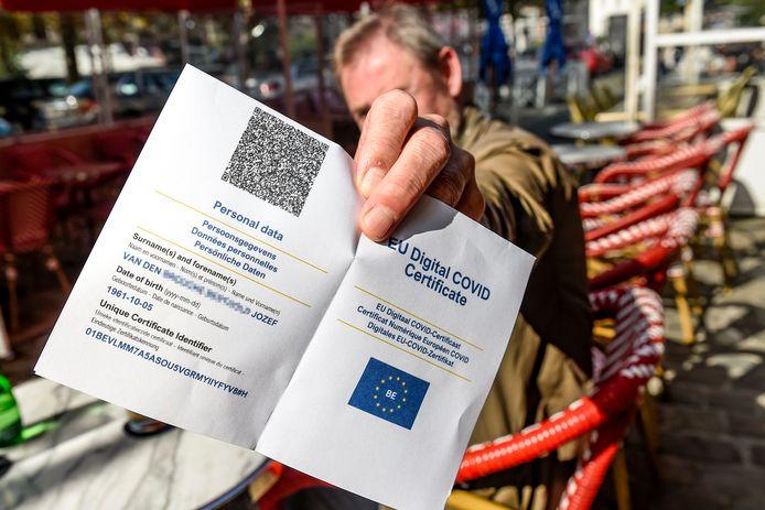 Le Covid Safe Ticket a été étendu à Bruxelles