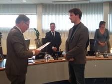 SP'er Viergever geïnstalleerd in raad Schouwen-Duiveland
