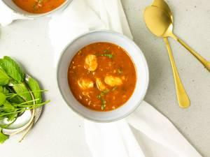 Wat Eten We Vandaag: Rijkgevulde tomaten-vissoep