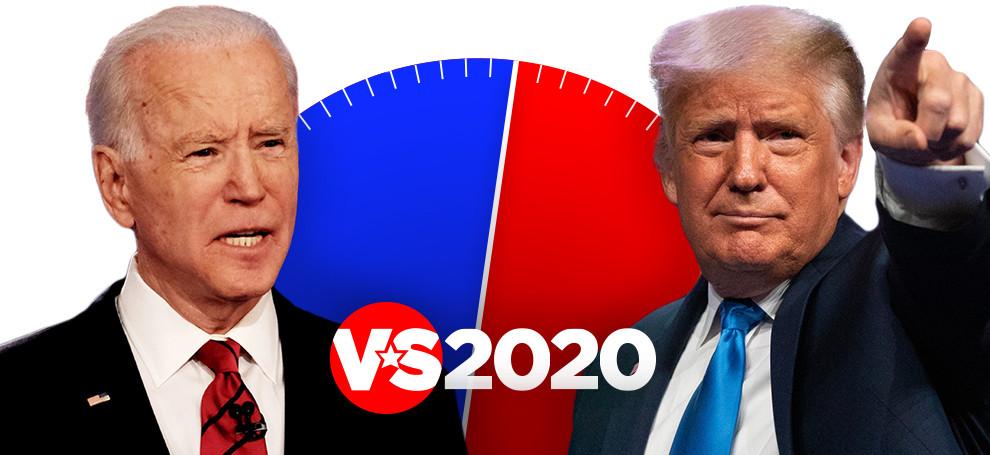 Biden of Trump? Doe de test.