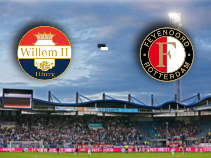 Naast seizoenkaarthouders vrijwel niemand welkom bij Willem II - Feyenoord