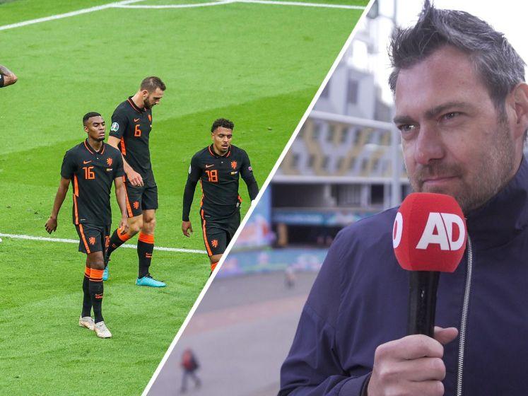 Sjoerd Mossou kritisch op Oranje: 'Geeft reden tot huiswerk'